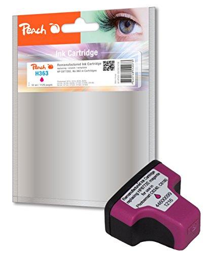 Preisvergleich Produktbild Peach Tintenpatrone magenta kompatibel zu HP No. 363, C8772EE