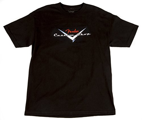 Fender Custom Shop Logo BLK M · T-Shirt