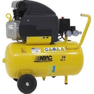 COMPRESSORE D'ARIA 24 LITRI ABAC POLE POSITION B20 2HP 230V