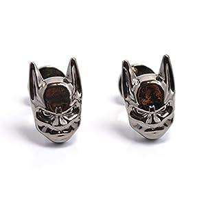 Batman schwarze Maske Neuheit-Manschettenknöpfe – Vintage Design Manschettenknöpfe für Männer