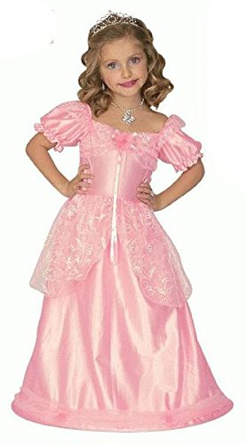Widmann 004.WD4386L - Kostüm für Kinder, Prinzessin, Rosa, Gr. 110/116 (sortiert)