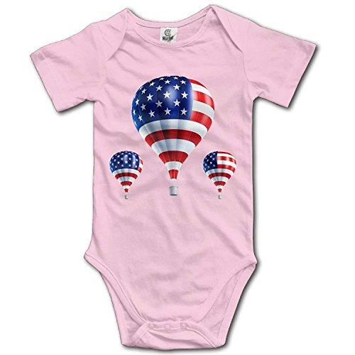 Girl Hot Cop Kostüm - TKMSH Unisex Baby's Climbing Clothes Set Hot Air Balloon Bodysuits Romper Short Sleeved Light Onesies for 0-24 Months