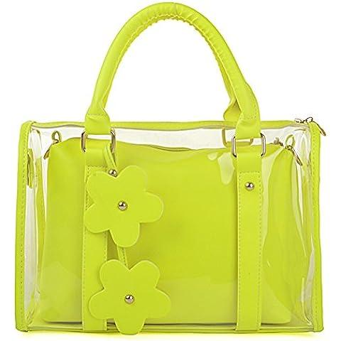 Candy Color fluorescente confezione/Borse/Borse da spiaggia/ trasparente