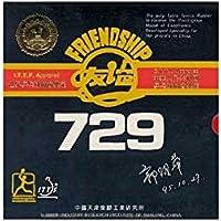 Friendship 729FX super tenis de mesa caucho, negro
