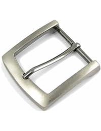 ZINC BOUCLE DE CEINTURE (SILVER ANTIQUE REGARD). Convient pour ceintures jusqu'à 38 - 40mm de largeur avec fermeture à bouton poussoir.
