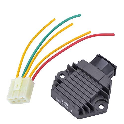 motorcycle regulator rectifier voltage 12v for hondacbr250 mc17 mc19mc22  cbr400 nc23 nc29 cbr600 f2 f3 1991