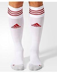 adidas Adisock 12, Medias para Hombre, Blanco/Rojo (White/University Red), 40-42 EU, 1 par