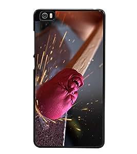 PrintVisa Struggling High Gloss Designer Back Case Cover for Xiaomi Mi 5 :: Redmi Mi5