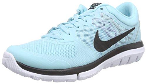 Nike Flex Run 2015, Chaussures de course femme Bleu - Blau (Blaue Lagune/Gezeitentümpel-Blau/Minzfarben/Schwarz 405)