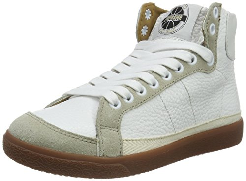 Pantofola d'Oro Legend, Sneakers Hautes Femme Blanc (02L Bianco/Lamb)