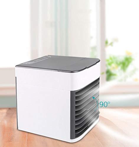 Mini-Luftkühler mobile Klimaanlage elektrischer Ventilator tragbar USB-Aufladung Kühlung zu Hause Schlafsaal Luftbefeuchter Luftreiniger @ (Hause Für Zu Ventilatoren Elektrische)