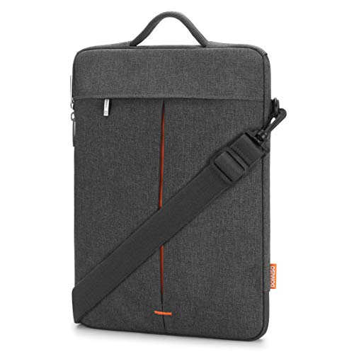 DOMISO Wasserdicht Laptophülle Etui Notebook Schultertasche Hülle Tasche für 12.5