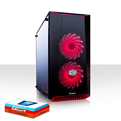 Fierce Reaper High-End RGB Gaming PC - Schnell 4.0GHz Hex-Core Intel Core i5 8400, 240GB Solid State Drive, 1TB Festplatte, 8GB 2666MHz, NVIDIA GeForce GTX 1060 3GB, Windows 10 installiert 1004770