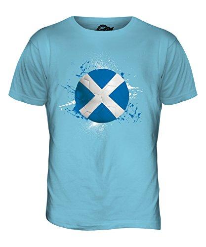 CandyMix Schottland Fußball Herren T Shirt Himmelblau