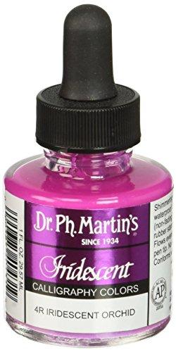 Dr. Ph. Martin 's irisierend Kalligraphie Farbe, 1.0oz, irisierendes Orchidee