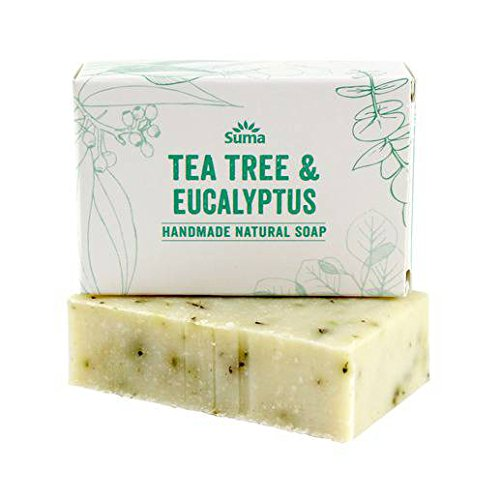 Suma de árbol de té y eucalipto Jabón 95g (paquete de 6)