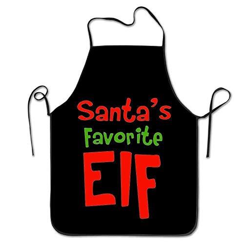 Delantal diseño divertido Elfo Navidad Santa Adulto