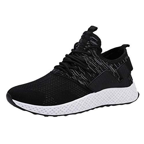 Chaussures Hommes Pas Cher ELECTRI Baskets Maille Confortable Mode Sneakers Respirante Loisirs Sports Fitness Gym Athlétique Multisports Outdoor Casual Sports Course Semelles
