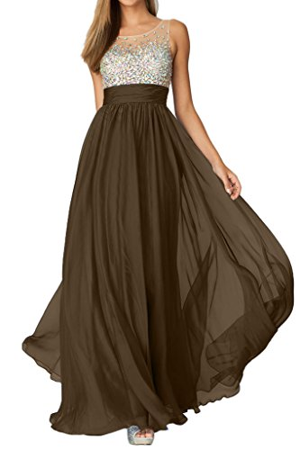 Missdressy - Robe - Taille empire - Femme Marron