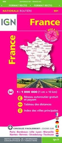 Descargar Libro 901 FRANCE ROUTES AUTOROUTES de COLLECTIF
