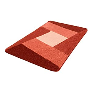 "Kleine Wolke ""Indiana"" Bath Mat, Bordeaux Red, 60 x 100 cm"
