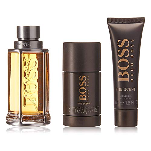 BOSS The Scent homme/man Set (Eau de Toilette (100 ml), Duschgel (50 ml), Deodorant Stick (75 ml)) -