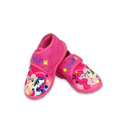 asbro My Little Pony - Tolle Geschenkidee für Kinder - Hausschuhe/Laufschuhe/Pantoffeln für Mädchen Pink (24) (My Little Pony Mädchen Schuhe)