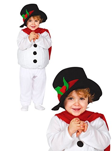 Weihnachten Schneemann Kostüm Kinder 1-2 Jahre (Baby Und Kinder Schneemann Kostüme)