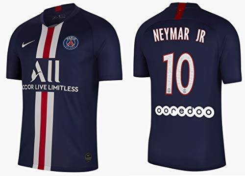 Psg 2019-2020 home l1 - maglietta da uomo neymar jr 10, xl