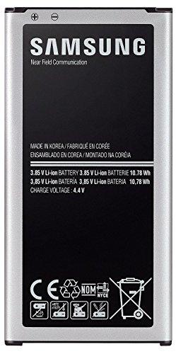 Akku S-5 ((in BLISTER)) Samsung EB-BG900BBEGWW SM-G900 Li-Ion Standard-Akku (2800mAh) für Samsung Galaxy S5 (beachten Original Akkus NUR in Blister verpackt !!) (Akku 1) Samsung Standard-lithium-batterie