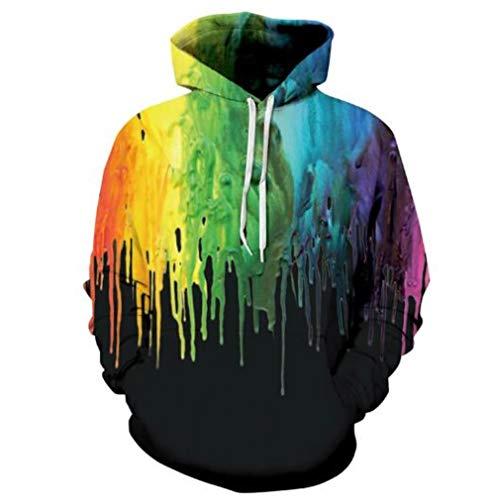 rts der Hoodies der Männer 3D regelmäßige Zecke Hoodiessweatshirts der Männer Herbstwinter Hoodie-Sweatshirtgroßverkauf Justin Bieber, Multi, XXXL ()