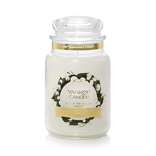 Yankee Candle Duftkerze im großen Jar, Lily of the Valley