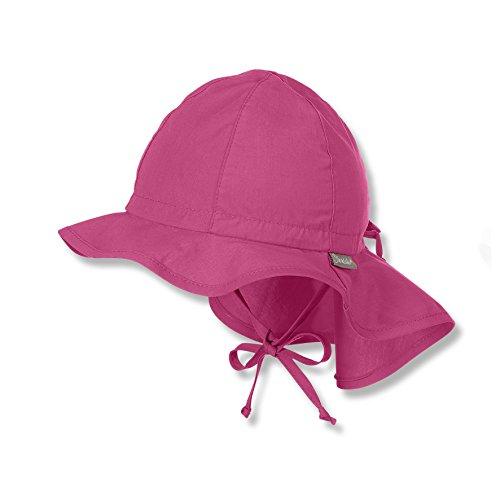 Sterntaler Baby - Mädchen Mütze Flapper 1511620, Rosa (Magenta 745), 53 (Kinder Hüte Für Den Sommer)