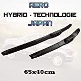 Jurmann Trade GmbH® 2 x Hybrid-Technologie Japan Ersatz Scheibenwischer Wischerblätter Set 650/400mm