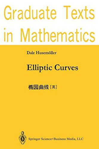 Elliptic Curves (Graduate Texts in Mathematics)