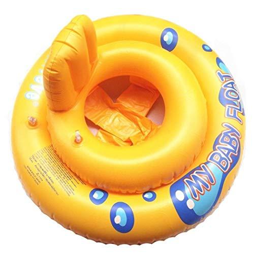 amilses Baby Float Swimming Ring Piscina Silla Lounge con Respaldo Flotador Hinchable...