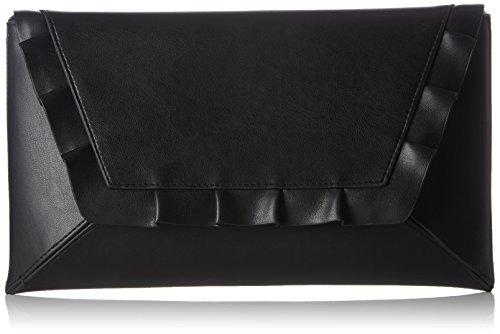 Buffalo Damen 18859 Clutch, Schwarz (Black 01), 2.5x17.0x30.0 cm -