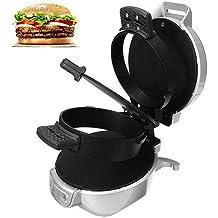 Mini sandwich tostadora desayuno hornear máquina automática hamburguesa fabricante tocino huevo freír utensilios ...