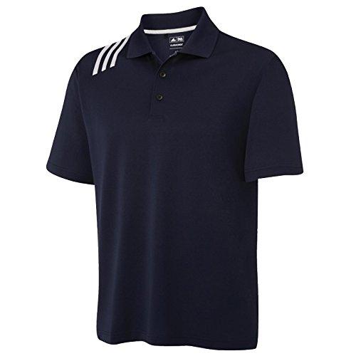 Adidas Herren ad013bkwhm ClimaCool 3-Streifen Modern Polo marineblau / weiß