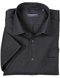Schwarzes Hemd von Casamoda in Übergrößen bis 4XL