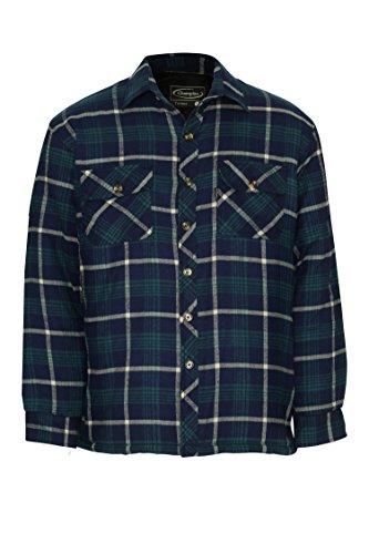 Champion camicia invernale imbottita con fodera trapuntata, da uomo totnes blue xx-large