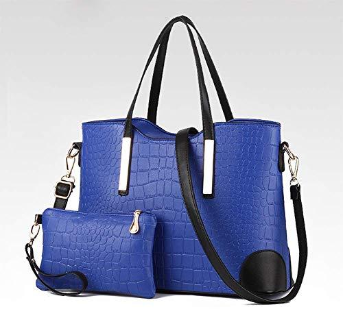 MAOMAFG Plaid Handtasche Damen aus Leder für Damen,krokodil-Muster,Beuteltasche, Vintage, Damenumhängetasche, Kunstleder Handtasche,für Arbeit, Alltag und Urlaub -