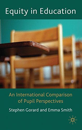 Equity in Education: An international Comparison of Pupil Perspectives