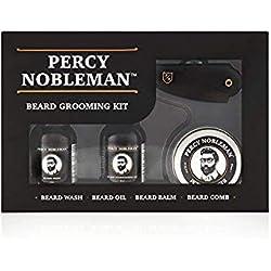 Percy Nobleman Kit per Barba - Presenta il Set Completo Per La Cura Della Barba