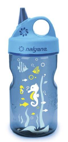 Nalgene Kunststoffflasche Everyday Grip-n-Gulp, Blau, 2182-1412