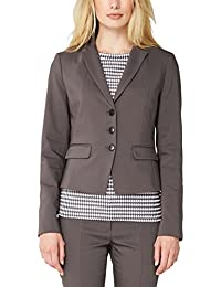s.Oliver BLACK LABEL Damen Blazer mit Struktur, Einfarbig
