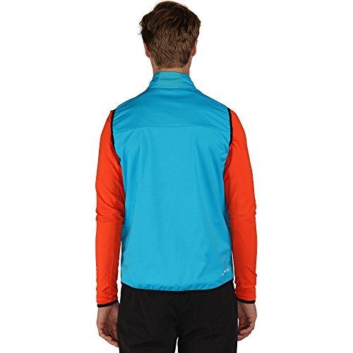 Dare 2b Mens Mobilize Light Polyester Softshell Breathable Gilet Fluro Blue