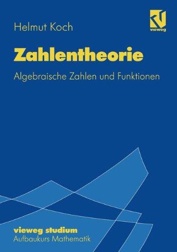 Vieweg Studium, Nr.72, Zahlentheorie (vieweg studium; Aufbaukurs Mathematik, Band 72)