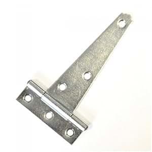 Charnière penture de portail en acier galvanisé 100 mm eisenstift enroulé t-band türband charnière