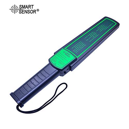 MOIMK Detector de Metales portátil de Pinpointer de Alta sensibilidad de escáner de Seguridad de Hunter...